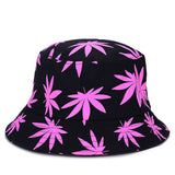 Hemp Leaf Bucket Hat