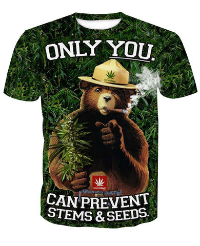 Smoke Bear T-Shirt