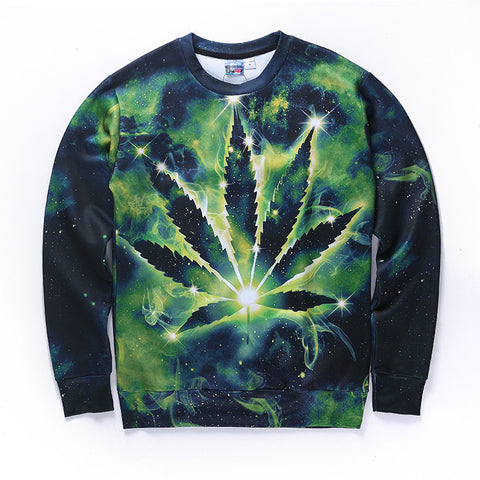 Leaf Galaxy Sweatshirt