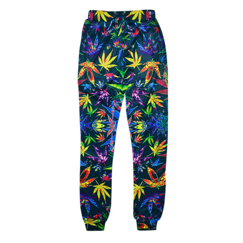 Colorful Cannabis Pants