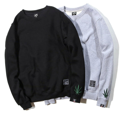Green Leaf Sweatshirt