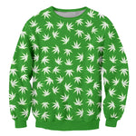 Cannabis Leaves Sweatshirt