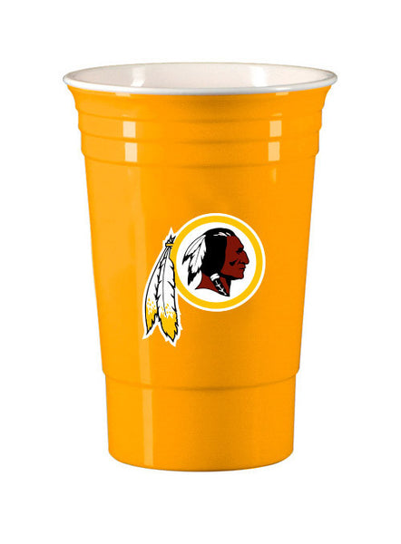 Redskins 18 oz. Game Day Cups (18 Pack)