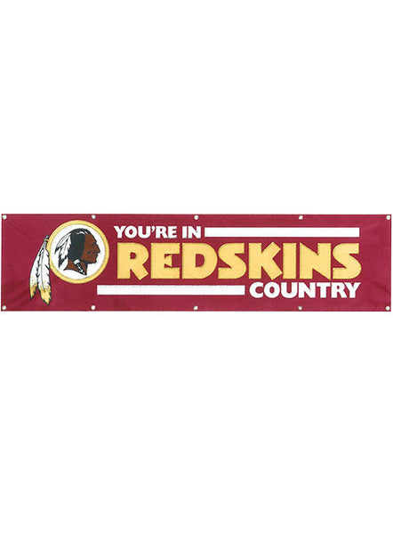 Redskins Country Banner