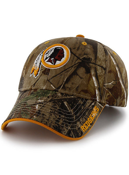 Redskins '47 Brand Realtree Camo Hat