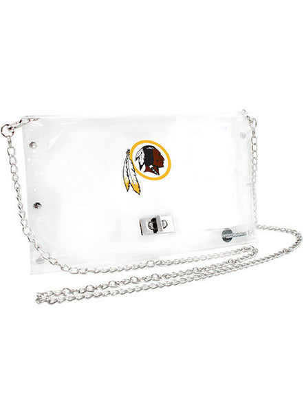Redskins Clear Envelope Purse