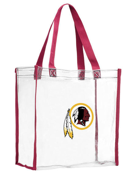 Redskins Reusable Clear Bag