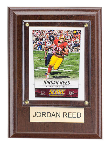 Redskins Jordan Reed 4'' x 6'' Plaque