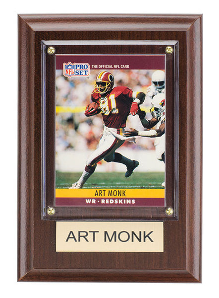 Redskins Art Monk 4'' x 6'' Plaque