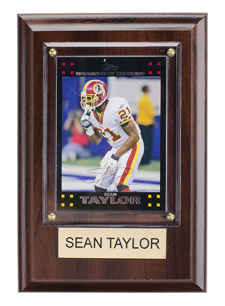 Redskins Sean Taylor 4'' x 6'' Plaque