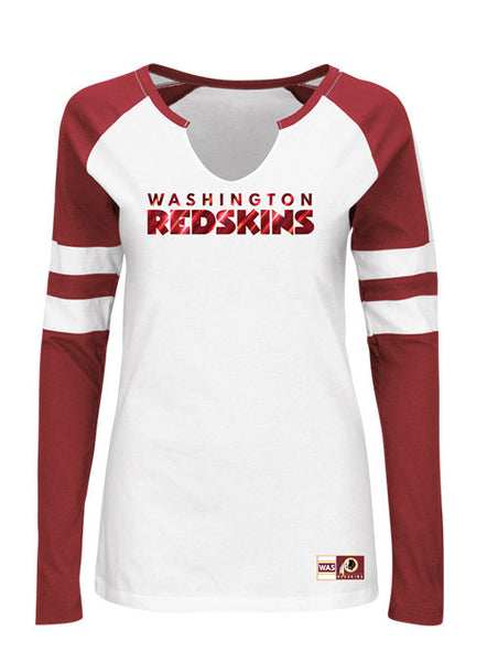 Ladies Redskins Coin Toss T-Shirt