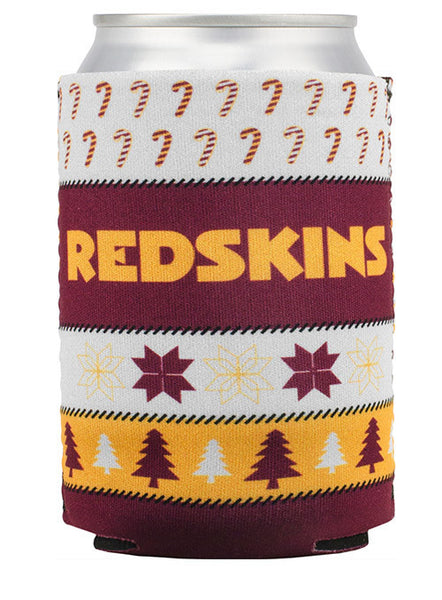 Redskins Ugly Sweater Can Cooler