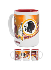 Redskins 15 oz. Jumbo Two Tone Mug
