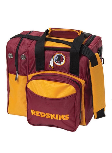 Washington Redskins Single Ball Tote Bag by KR Strikeforce