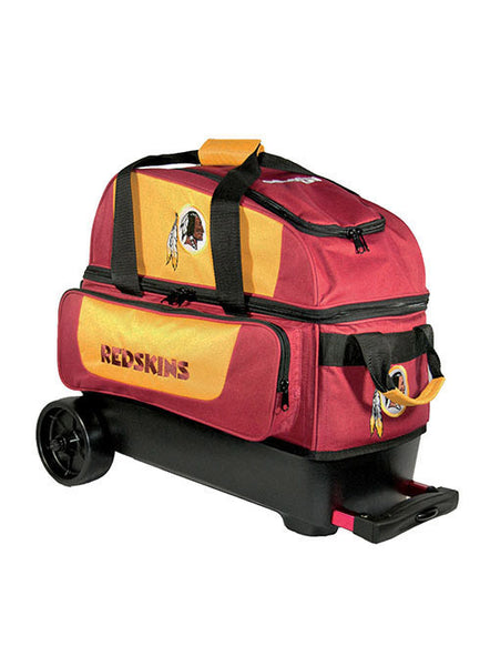 Washington Redskins Double Ball Roller Bag by KR Strikeforce