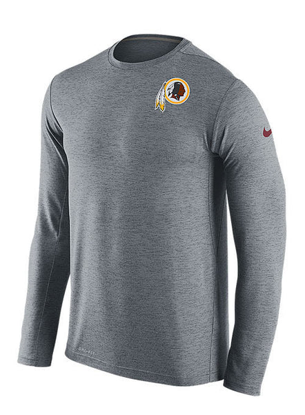 Nike Redskins Sideline Dri-FIT Performance Logo T-Shirt