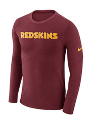 Nike Redskins Marled Wordmark T-Shirt