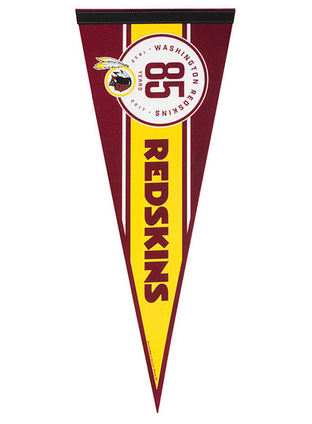 Redskins 12'' x 30'' 85th Season Pennant