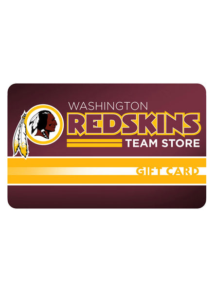 Redskins Team Store Gift Card