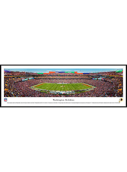 Framed Redskins Stadium Panorama Print
