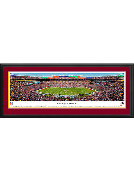 Deluxe Framed Redskins Stadium Panorama Print