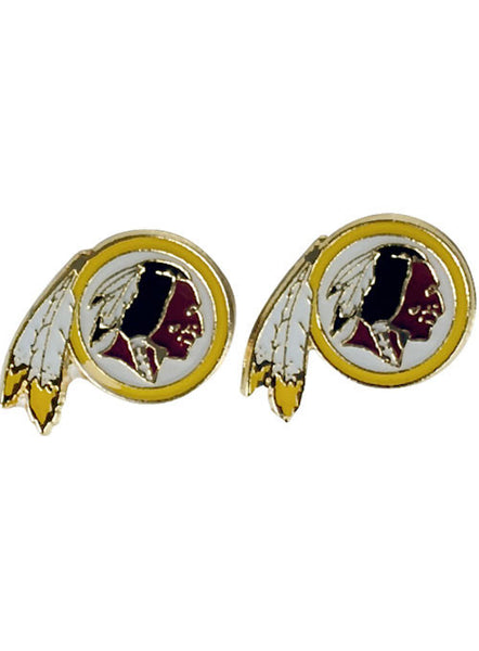 Redskins Post Earrings
