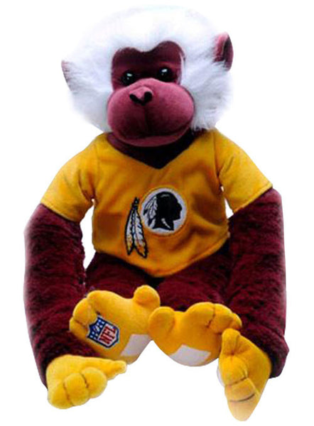 Plush Redskins Monkey