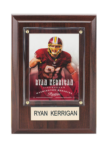 Redskins Ryan Kerrigan Plaque
