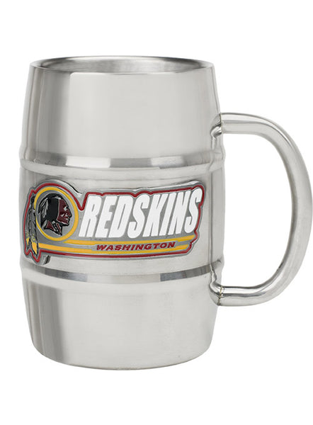 Redskins 16 oz. Stainless Steel Mug