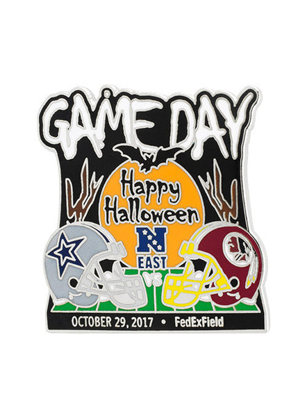 2017 Cowboys vs. Redskins Game Day Hatpin