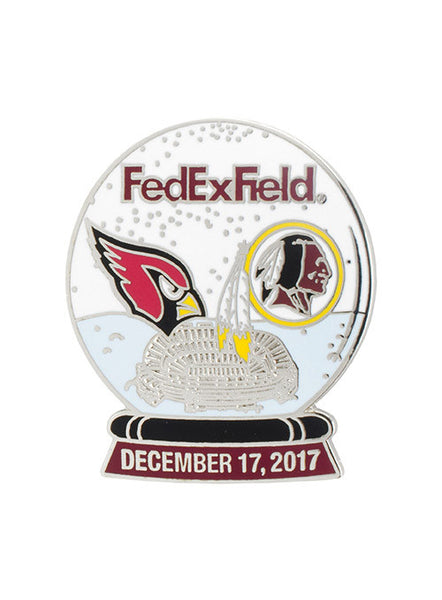 2017 Cardinals vs. Redskins Game Day Hatpin