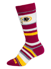 Redskins Ladies Soft Stripe Socks
