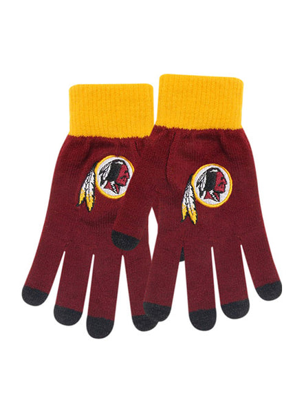 Ladies Redskins Gloves