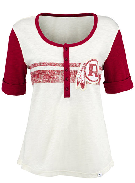 Ladies Redskins Slub Henley