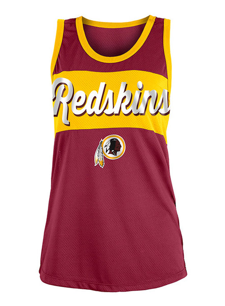 Ladies Redskins 5th & Ocean Mesh Tank