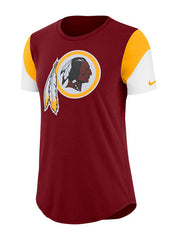 Ladies Nike Redskins Tri Fan T-Shirt