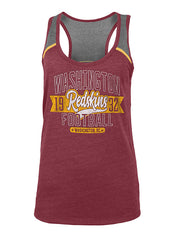 Ladies 5th & Ocean Redskins Triblend Tank