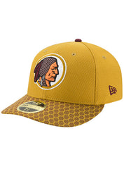 New Era Redskins 2017 Sideline Low Crown Classic 59FIFTY Fitted Hat