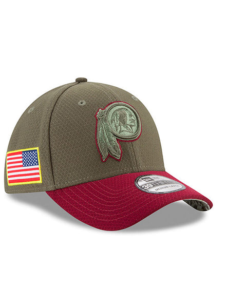 New Era Redskins Salute To Service 39THIRTY Flex Hat