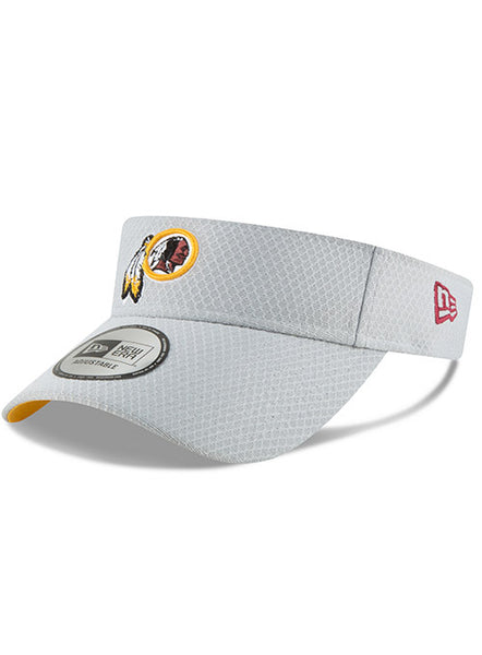 New Era Redskins 2018 Gray Training Visor