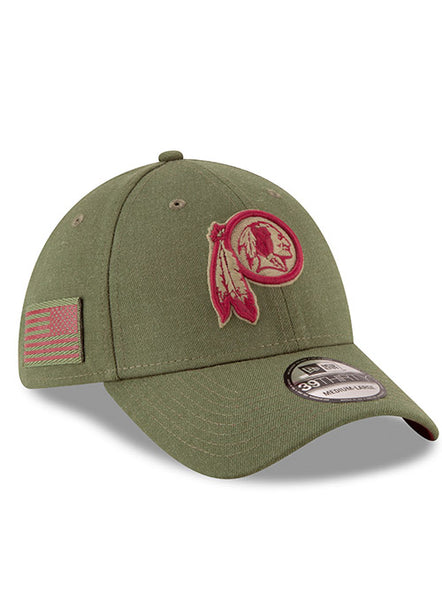 New Era Redskins 2018 Salute to Service 39THIRTY Flex Hat
