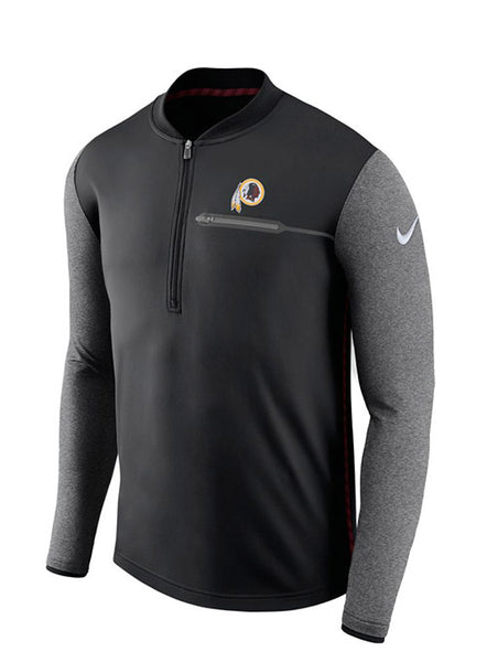 Nike Redskins Sideline 1/2 Zip Coach Jacket