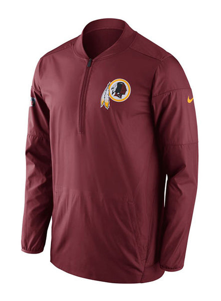 Nike Redskins Sideline 1/2 Zip Lockdown Jacket