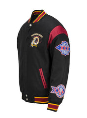 Redskins Reversible 3-Time Champs Jacket