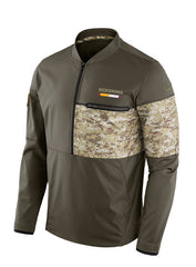 Nike Redskins 1/2 Zip Salute To Service Hybrid Jacket