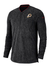Nike Redskins  1/2 Zip Sideline Coaches Jacket