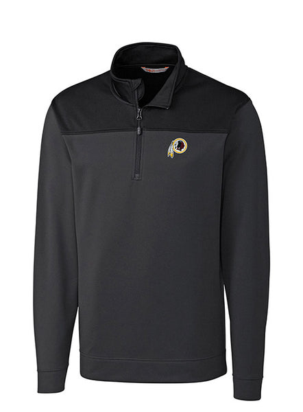 Cutter And Buck Redskins Skyridge 1/2 Zip Jacket