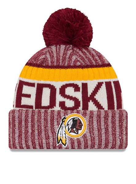 New Era Redskins 2017 Sideline Sport Knit Hat
