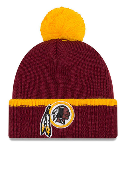 New Era Redskins Prime Team Knit Hat