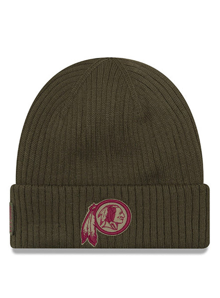 New Era Redskins Men's 2018 Salute to Service Knit